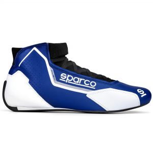 Sparco X-Light Race Boots - Blue-White