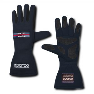 Sparco Land Classic Martini Racing Race Gloves - Navy Blue
