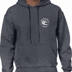 Cush Charcoal 'Logo' Hoodie