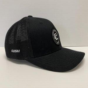 CUS TRUCKER BLK CAP