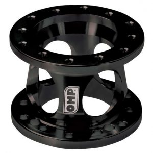 OMP Steering wheel spacer black