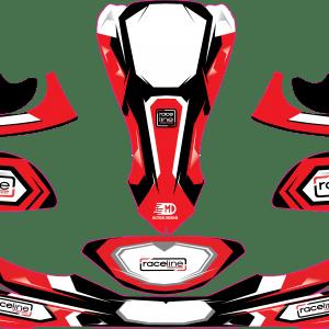 Raceline KArt custom sticker kit