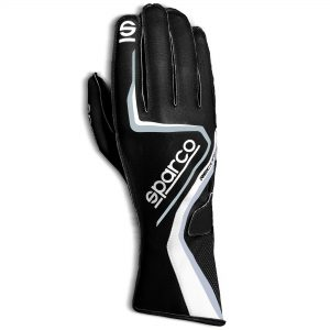 Sparco Record WP Water Resistant Kart Gloves - front