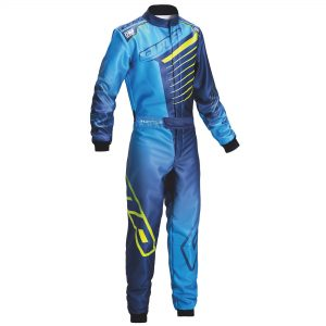 OMP KS-1R kart suit blue