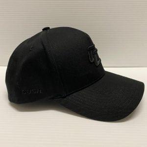 Cush blk on blk cap