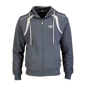 OMP grey hoodie front