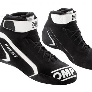 OMP First Race Shoe - Black-White