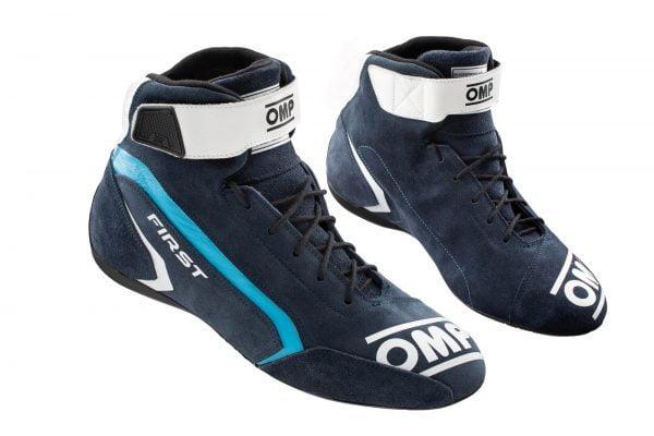 OMP First Race Shoe - Navy Blue-Black
