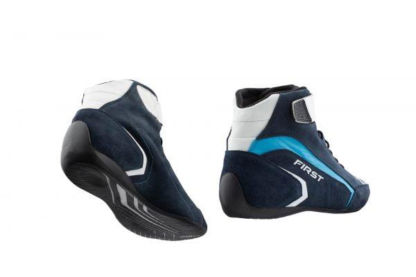 OMP First Race Shoe - Navy Blue-Black back