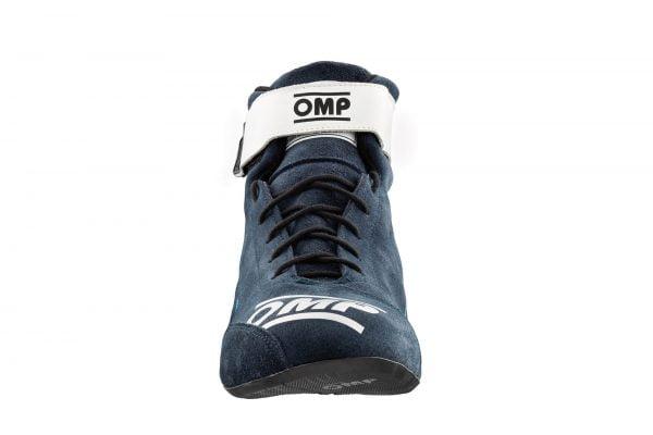 OMP First Race Shoe - Navy Blue-Black front