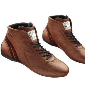OMP 2021 FIA Carrera boots - Brown