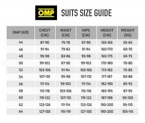 OMP-suit-size-guide