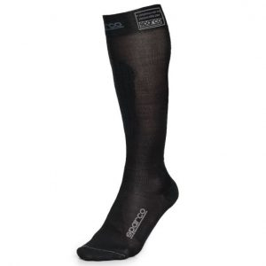 Sparco compression sock 2000FIA black