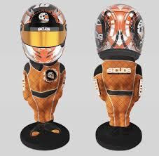 Helmet stand 2